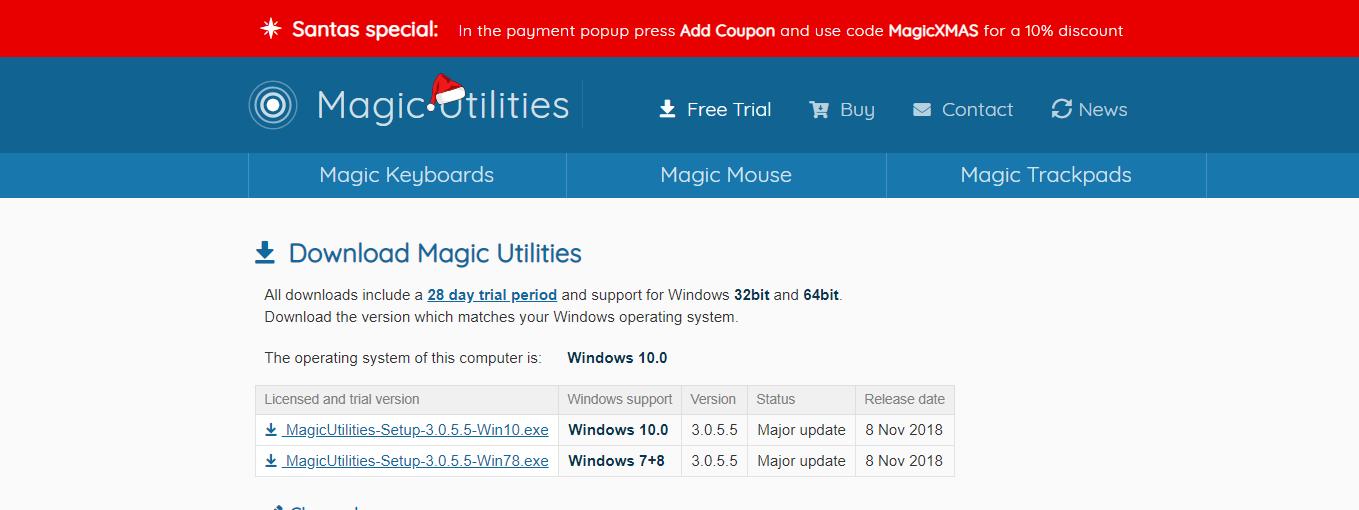Apple純正マウス(Magic Mouse 2) をWindowsで使用する方法をご